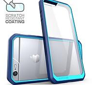 Недорогие -премиум гибрид защитный бампер чехол для iphone 6 плюс / 6с плюс (ассорти цветов)
