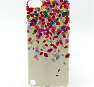 cheap -Flower Painting Pattern TPU Soft Case for iPod Touch 5 iPod Cases/Covers