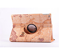 cheap -World Map 360⁰ Case Design Stand Function High Quality PU Leather Bag For iPad Mini 3/2/1(Assorted Color)