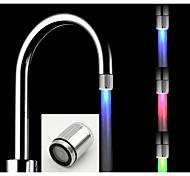 Недорогие -Современный Настольная установка LED Матовый, кухонный смеситель