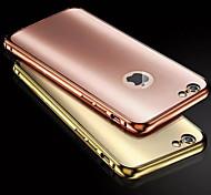 Недорогие -Назначение iPhone 8 iPhone 8 Plus iPhone 6 iPhone 6 Plus Чехлы панели Покрытие Задняя крышка Кейс для Сплошной цвет Твердый Металл для