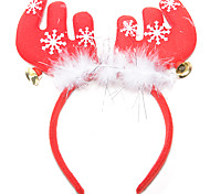 Christmas Party Supplies Reindeer Antlers Headband Toys Jingle Bell 1 Pieces