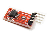 AT24C256 I2C EEPROM Storage Module for Intelligent Car - Red + Black