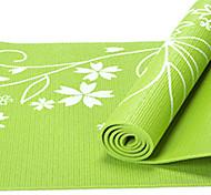 PVC Йога коврики Липкий Non Toxic 8.0 мм Красный Синий Зеленый Фиолетовый