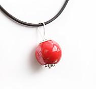 Недорогие -Женский Классика Мода Ожерелья с подвесками Керамика Ожерелья с подвесками , Для вечеринок Повседневные