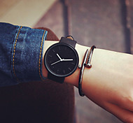 cheap -New Women Black Geek Strap Watch Fashion Casual Waterproof Cool Minimalist Unisex Quartz Rubber Strap Wristwatches Cool Watches Unique Watches