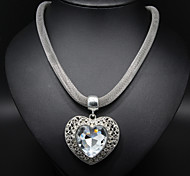 cheap -Women's Heart Alloy Statement Necklace - Alloy Heart Heart Necklace For Thank You Valentine