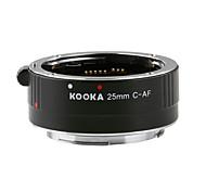 kooka kk-c25 Verlängerungsrohr 3,5 mm-Eingang mit Auto-Fokus ttl Explosion für Canon EF&ef-s spiegelreflexkameras