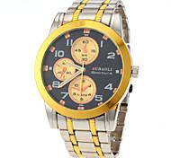 JUBAOLI® Men Fashion Design Steel Band Quartz Watch Cool Watch Unique Watch
