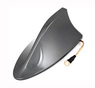 cheap -Plastic Shark Fin Design Adhesive Base Roof Decorative Antenna 16cm Long for Toyota RAV4