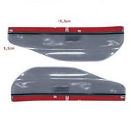 Недорогие -практичный автомобиль зеркало заднего вида дождь бровь (2 шт комплект)