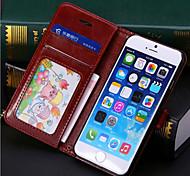 PU pack cuir coquille / support / coque téléphone mobile étui protecteur pour téléphone mobile, plus iPhone6
