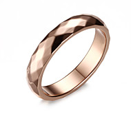 cheap -Men's Band Ring - Titanium Steel Fashion 7 / 8 / 9 Golden For Wedding / Party / Daily