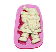 Fondant Cake Decorating Tools Santa Claus Christmas Silicone Mold For Cupcake Candy Chocolate Soap Arts & Crafts