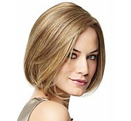 cheap -Synthetic Hair Wigs Straight Carnival Wig Halloween Wig Short Blonde