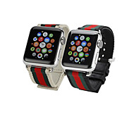 Мода ткать часы группы для яблока смотреть 38 мм 42 мм классический пряжкой замена wathband