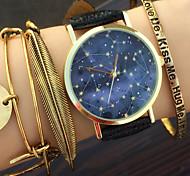 Celestial Blueprint Watch Constellations Vintage Space Unisex Fashion Watch Women's Watch Men's Watch Astronomy Gift Idea Cool Watches Unique Watches
