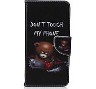 шаблон пиво пу кожаный материал флип карты телефон случае для iphone 6 плюс / 6с плюс