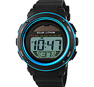 cheap -SKMEI Men's Digital Wrist Watch / Sport Watch Alarm / Calendar / date / day / Chronograph / Water Resistant / Water Proof PU Band Charm