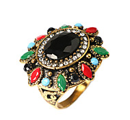 cheap -Women's Gold Plated Statement Ring - Fashion Screen Color Ring For Party