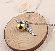 Недорогие -Жен. форма Ожерелья с подвесками Серебристый Ожерелья с подвесками