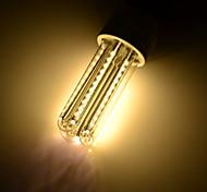E26/E27 LED Corn Lights T 66 SMD 3014 650 lm Warm White 3000 K Decorative AC 85-265 AC 220-240 AC 100-240 AC 110-130 V