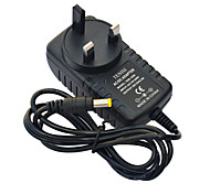 Jiawen UK Plug 2A  AC Power Charging Adapter Charger - Black (AC 110-240V)