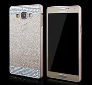 роскошь горячей продажи кристалл горный хрусталь задняя крышка для Samsung a3