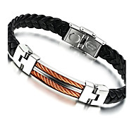 cheap -Bangles - Stainless Steel Natural, Fashion Bracelet Gold / Rose Gold For Party / Birthday / Party / Evening