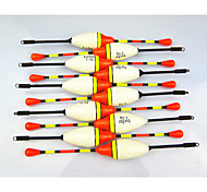 cheap -Anmuka Hot Sale! 10Pcs 4.5G Vertical Buoy Fish Floats Bobbers Fishing Float Set Fishing Tackle Tools Fishing Lure Float
