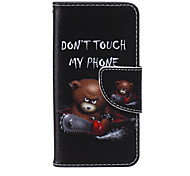 Недорогие -Не трогай меня винни пу материала шаблон карты кронштейн дело на IPod Touch 5/6