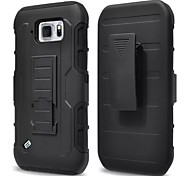 For Samsung Galaxy Case Dustproof / Shockproof / Waterproof / with Stand Case Back Cover Case Armor PC Samsung S6 Active / S4 Mini