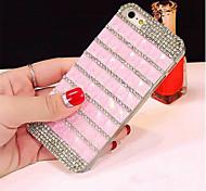 высококлассные крышка кристалл алмаза блеск горный хрусталь случай сотового телефона роскошный Bling для iPhone 5 / 5s (ассорти цветов)