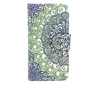 cheap -Case for Apple iPhone 7 7 Plus iPhone 6s 6 Plus Case Cover The Jade Pattern PU Leather Cases for iPhone SE 5s 5c 5 iPhone 4s 4