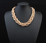 cheap -Women's Choker Necklace Chain Necklace  -  Fashion European Necklace For Wedding Party Daily