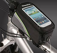 ROSWHEEL Fahrradrahmentasche Handy-Tasche 4.8 Zoll Wasserdicht tragbar Touchscreen Telefon/Iphone Radsport für Samsung Galaxy S4 Andere