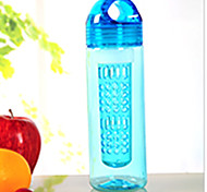 550ml Sports Cups Lemon Cup Kettle Plastic Cups Portable Outdoor Leakproof and Anti Scald Bottle Space Cup