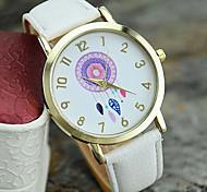 Women's New Fashion Leather Dreamcatcher Wrist Watch Cool Watches Unique Watches