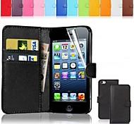 Недорогие -Кейс для Назначение iPhone 5c Apple iPhone 8 iPhone 8 Plus Чехол Твердый Кожа PU для iPhone 8 Pluss iPhone 8 iPhone 5c