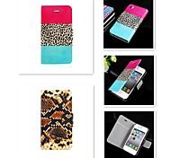 exquisite Textur-Design-PU-Leder Ganzkörper-Case für iPhone 4 / 4S