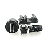 cheap -Iztoss headlight window Switch VW Passat B6 Jetta Golf MK5 MK6 CC 5ND941431B/5ND959857/5ND959855/5ND959565A 6set