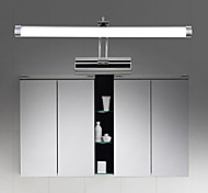 cheap -Wall Lights Mirror Front Lamps Bathroom 9W Stainless Steel LED Chip Warm White/Cold White(size:50X17X18cm)