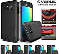 Недорогие -Для Samsung Galaxy Note Защита от удара / Покрытие Кейс для Задняя крышка Кейс для Один цвет TPU Samsung Note 5 / Note 4