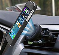 Недорогие -2016 Новый уникальный магнитный воздушный клапан Автомобильный держатель для всех смартфонов мобильных телефонов