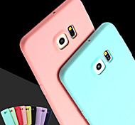 Pink Girl Solid Colour Elegant Simple Soft Case for Samsung Galaxy S3/S4/S5/S6/S6 Edge/S6 Edge Plus