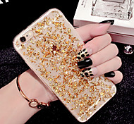 cheap -Case For Apple iPhone 6 iPhone 6 Plus Transparent Back Cover Glitter Shine Soft TPU for iPhone X iPhone 8 Plus iPhone 8 iPhone 7 Plus