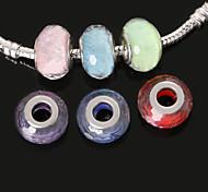 economico -Gioielli fai-da-te 10pcs pezzi Resina 4 5 6 7 8 Round Shape perlina cm Fai da te Collana Bracciali