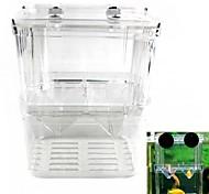 Недорогие -двойной изоляции коробки инкубатор воспроизведение рыба несовершеннолетних (размер L)