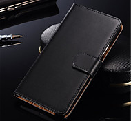 cheap -Case For Samsung Galaxy Samsung Galaxy Case Card Holder Flip Full Body Cases Solid Color Hard PU Leather for S7 edge S7 S6 edge plus S6
