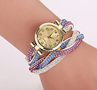 Xu™ Women's Korea Velvet Around Rivets Bracelet Quartz Watch Cool Watches Unique Watches